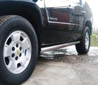 Пороги труба Chevrolet Tahoe (d76) #3