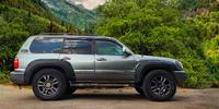 Фендера - расширители колесных арок Toyota Land Cruiser 100 (LLDPE)
