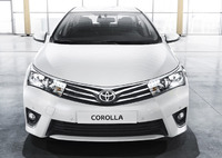 Передний бампер Toyota Corolla 18# 2013-2015