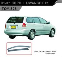 Ветровики - дефлекторы окон Toyota Corolla Fielder #ZE12# 2000-2006 (TXR Тайвань)