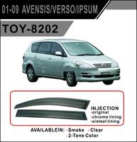 Ветровики - дефлекторы окон Toyota Ipsum M2# 01-09 (TXR Тайвань)