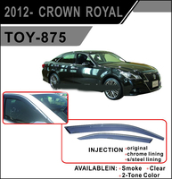Ветровики - дефлекторы окон Toyota Crown #21# 12- (TXR Тайвань)