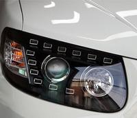 Альтернативная оптика (фары) «AUDI Q7 Style» для Hyundai Santa Fe 2006+