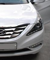 Альтернативная оптика (фары) для Hyundai Sonata YF i45 (черные)