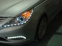 Альтернативная оптика (фары) для Hyundai Sonata YF i45 (хром)