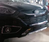 Большие защиты бамперов на Hyundai IX35 / Tucson