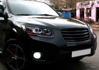 Решетка радиатора «Luxury VIP KSpeed» на Hyundai Santa Fe 2009+