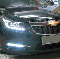 Ходовые огни ДХО (DRL) светодиодные «Mercedes S-Class Style» на Chevrolet Cruze