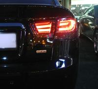 Стопы (фары)  LED «BMW F-series Style» для Kia Cerato Forte Sedan (дымчатые, красные)