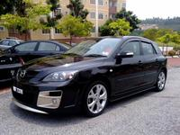 "Передний бампер ""AutoExe"" Mazda 3 Hatchback"