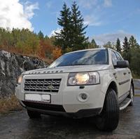 Пороги OEM Style (штатные) на Land Rover Freelander 2 (2006+)