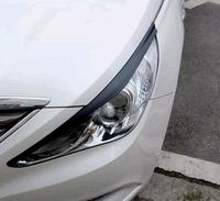 Реснички (накладки на фары) на Hyundai Sonata
