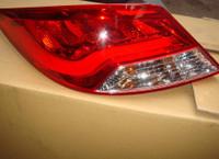Стопы (фары) «BMW Design» для Hyundai Solaris 2010+ (красные)