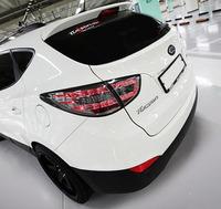 """Стопы (фары) LED """"Mercedes Style"""" для Hyundai Tucson Ix35 (дымчатые)"""