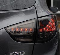 """Стопы (фары) LED """"Cayenne Style"""" для Hyundai Tucson Ix35 (дымчатые)"""
