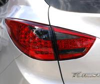 "Стопы (фары) LED ""Cayenne Style"" для Hyundai Tucson Ix35 (красные, тонированные)"
