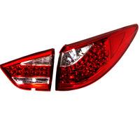 """Стопы (фары) LED """"Cayenne Style"""" для Hyundai Tucson Ix35 (красные)"""