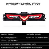 Задний светодиодный фонарь Toyota GT 86 / Subaru BRZ (12-16) в бампер
