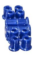 Полиуретановые втулки на пальцы серьги (задние рессоры) - комплект на перед