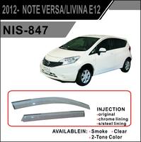 Ветровики - дефлекторы окон Nissan Note E12 12- (TXR Тайвань)