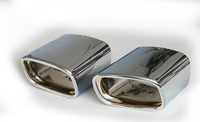 Насадки на глушитель Schatz для Mercedes GLK X204