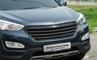 Решетка радиатора «ARTX Luxury» на Hyundai Santa Fe (DM) 2012 +