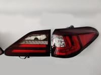Стопы для Lexus RX270, RX350, RX450h 2010-2015 в стиле 2017 (красные)
