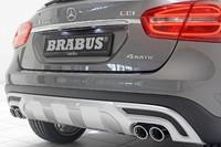Задний диффузор Brabus для Mercedes GLA X156