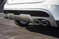Задний диффузор Carlsson для Mercedes GLA X156