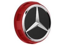 Заглушка центрального отверстия диска AMG красная